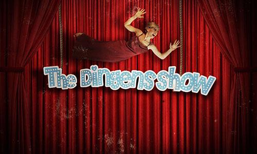 Vorspann The Dingens Show - Frau Dingens fällt ins Bild