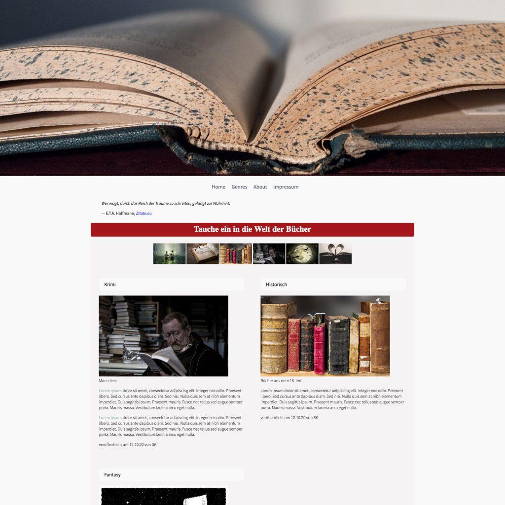Website html-übungsprojekt1