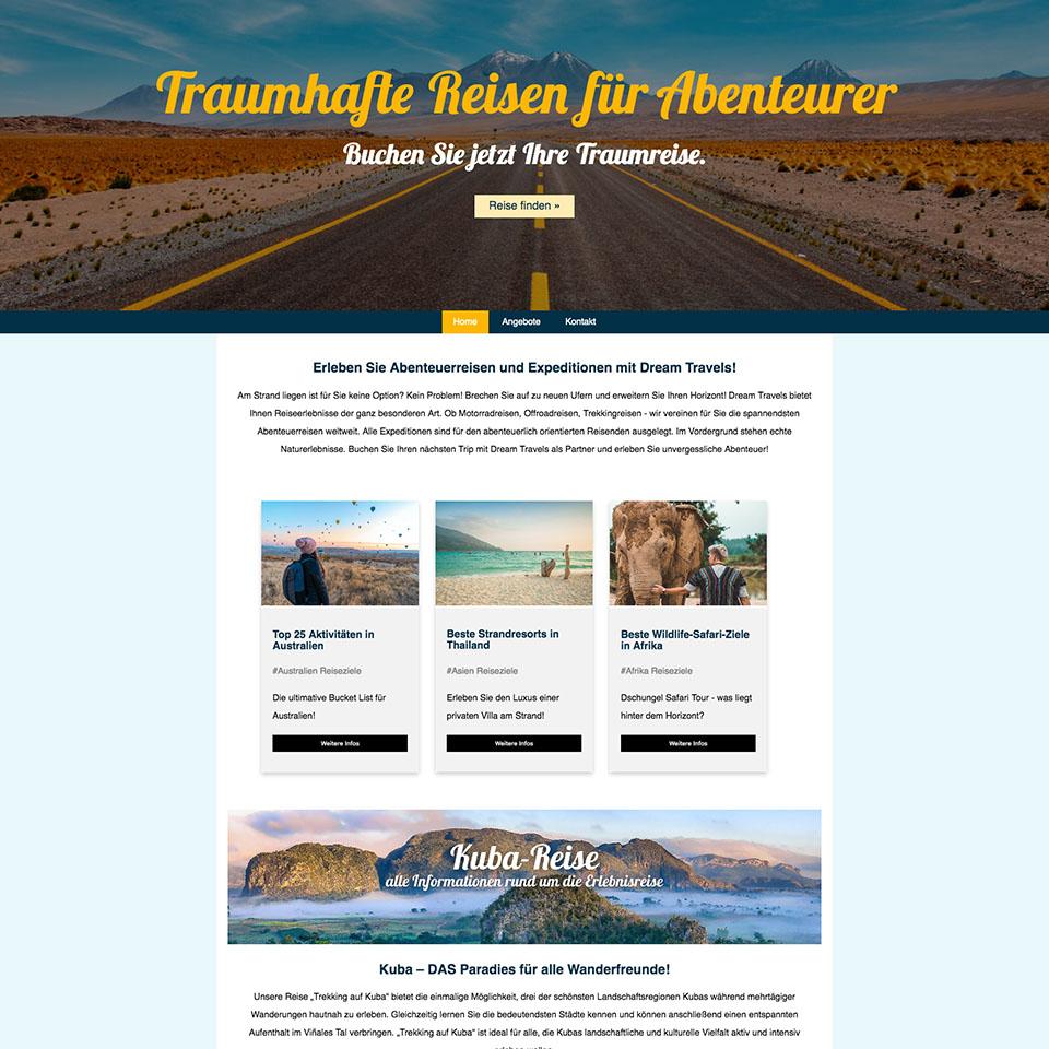 Website html-übungsprojekt2