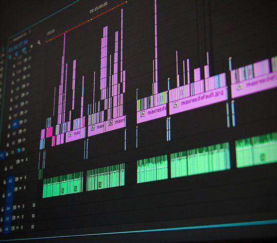 Timeline Schnittprogramm